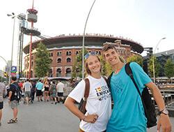 Campamento de Barcelona