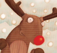 Rudolph, the red nosed reindeer